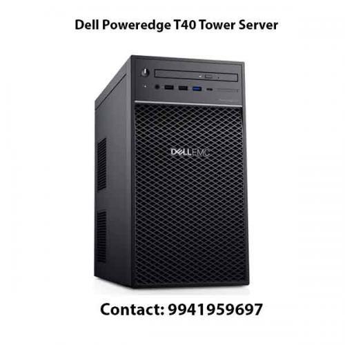 Dell Poweredge T40 Tower Server price in hyderabad, chennai, telangana, kerala, bangalore, india