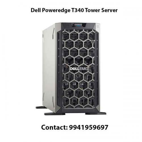 Dell Poweredge T340 Tower Server price in hyderabad, chennai, telangana, kerala, bangalore, india