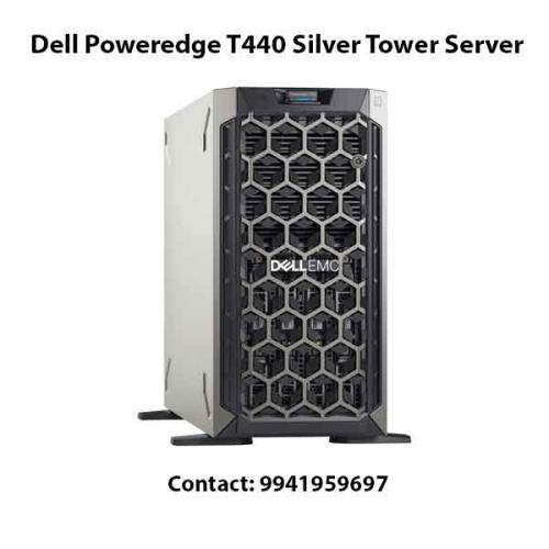 Dell Poweredge T440 Silver Tower Server price in hyderabad, chennai, telangana, kerala, bangalore, india