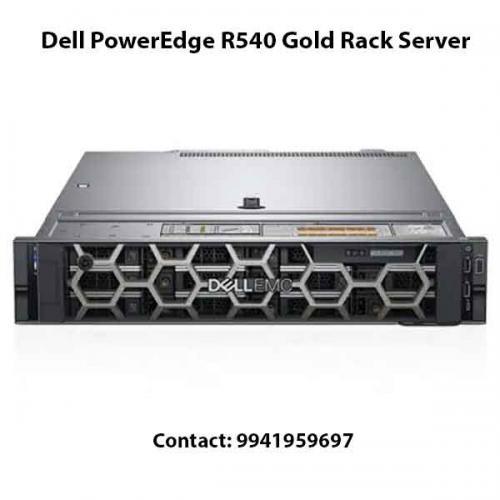 Dell PowerEdge R540 Gold Rack Server price in hyderabad, chennai, telangana, kerala, bangalore, india
