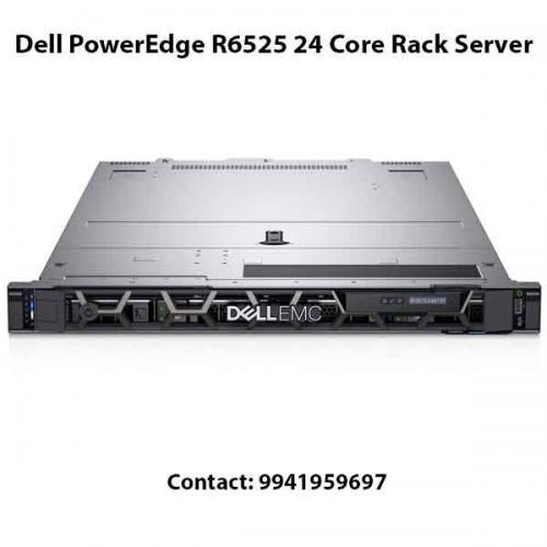 Dell PowerEdge R6525 24 Core Rack Server price in hyderabad, chennai, telangana, kerala, bangalore, india
