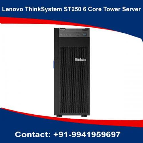 Lenovo ThinkSystem ST250 6 Core Tower Server price in hyderabad, chennai, telangana, kerala, bangalore, india