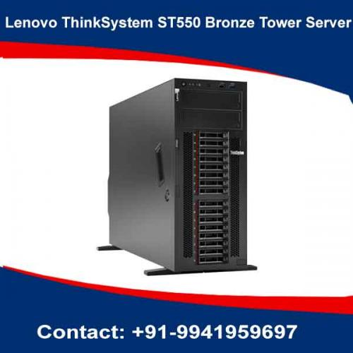 Lenovo ThinkSystem ST550 Bronze Tower Server price in hyderabad, chennai, telangana, kerala, bangalore, india