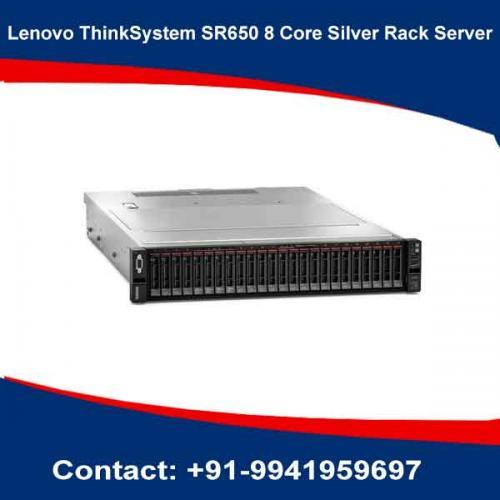 Lenovo ThinkSystem SR650 8 Core Silver Rack Server dealers in hyderabad, andhra, nellore, vizag, bangalore, telangana, kerala, bangalore, chennai, india