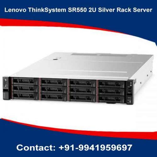 Lenovo ThinkSystem SR550 2U Silver Rack Server dealers in hyderabad, andhra, nellore, vizag, bangalore, telangana, kerala, bangalore, chennai, india