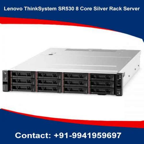 Lenovo ThinkSystem SR530 8 Core Silver Rack Server price in hyderabad, chennai, telangana, kerala, bangalore, india