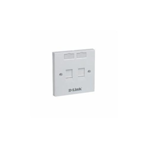 D-Link Face Plate Quad NFP-0WH142 dealers in hyderabad, andhra, nellore, vizag, bangalore, telangana, kerala, bangalore, chennai, india