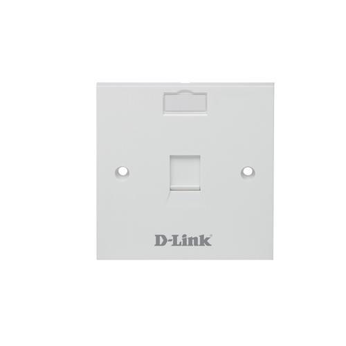 D-Link NFP-0WHI11 Single Port Faceplate dealers in hyderabad, andhra, nellore, vizag, bangalore, telangana, kerala, bangalore, chennai, india