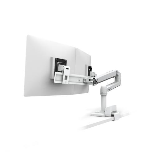 Ergotron LX Desk Mount Dual Direct Arm dealers in hyderabad, andhra, nellore, vizag, bangalore, telangana, kerala, bangalore, chennai, india
