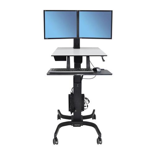 Ergotron WorkFit C Dual Sit Stand Workstation price in Chennai, tamilnadu, Hyderabad, kerala, bangalore