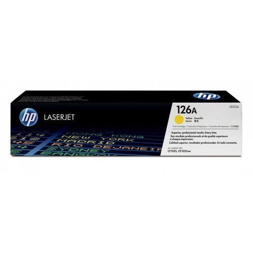 HP 126A CE312A Yellow LaserJet Toner Cartridge price