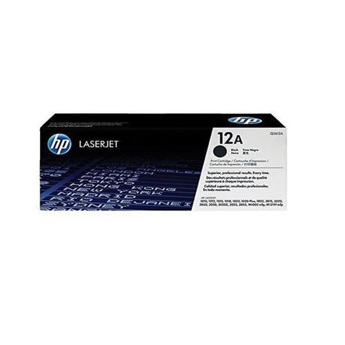 HP 12A Black Original LaserJet Toner Cartridge price in hyderabad, chennai, tamilnadu, india