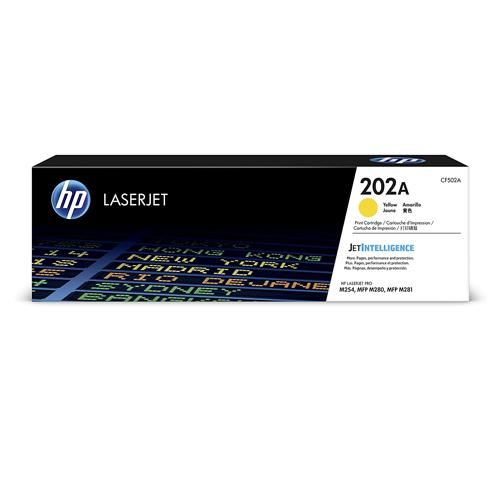 HP 202A CF502A Yellow LaserJet Toner Cartridge price