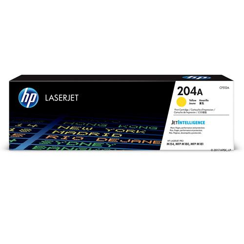 HP 204A CF512A Yellow LaserJet Toner Cartridge price