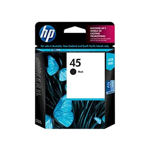 HP 45 51645AA Black Original Ink Cartridge price in hyderabad, chennai, tamilnadu, india