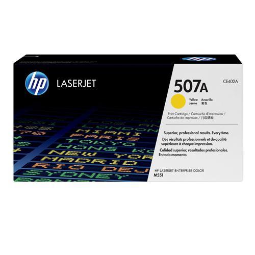HP 507A CE402A Yellow LaserJet Toner Cartridge price