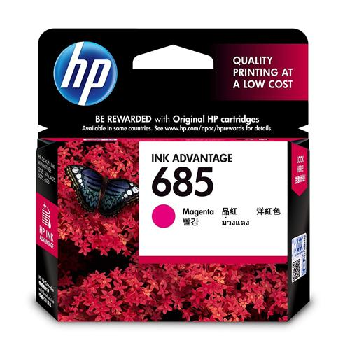 HP 685 CZ123AA Magenta Original Ink Cartridge price in hyderabad, chennai, tamilnadu, india
