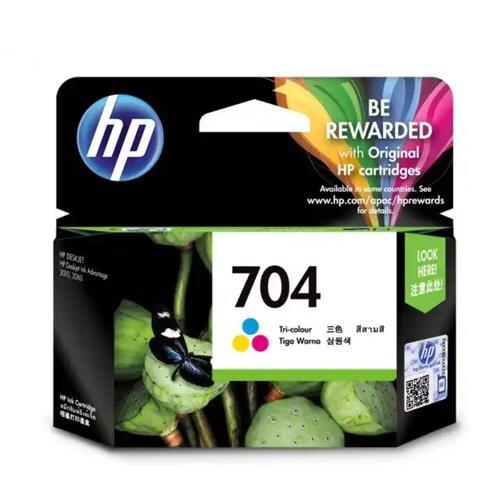 HP 704 CN693AA Tri color Original Ink Cartridge price in hyderabad, chennai, tamilnadu, india