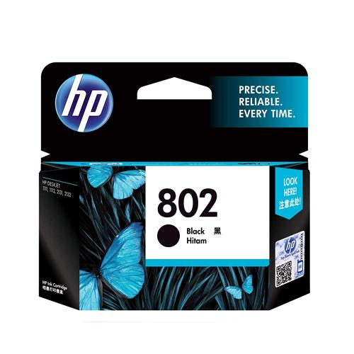 HP 802 CH561ZZ Small Black Ink Cartridge price in hyderabad, chennai, tamilnadu, india