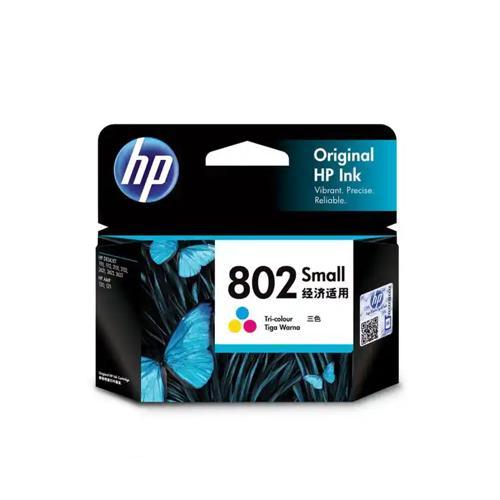 HP 802 CH562ZZ Small Tri color Ink Cartridge price in hyderabad, chennai, tamilnadu, india