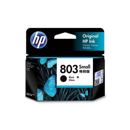 HP 803 F6V23AA Small Black Ink Cartridge price in hyderabad, chennai, tamilnadu, india