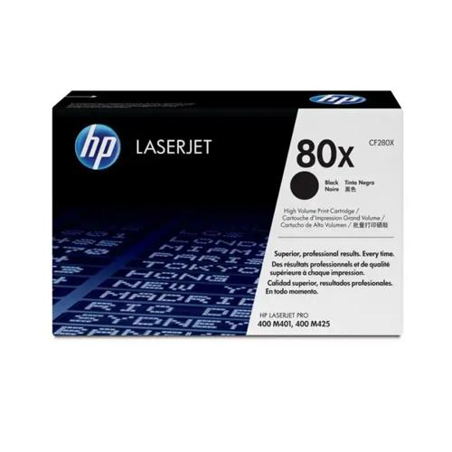 HP 80X CF280X High Yield Black LaserJet Toner Cartridge price