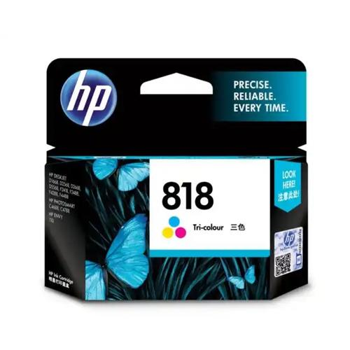 HP 818 CC643ZZ Tri color Original Ink Cartridge price in hyderabad, chennai, tamilnadu, india