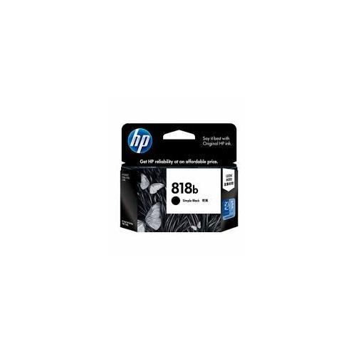 HP 818b Simple Black Original Ink Cartridge price in hyderabad, chennai, tamilnadu, india