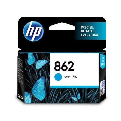 HP 862 CB318ZZ Cyan Ink Cartridge price in hyderabad, chennai, tamilnadu, india