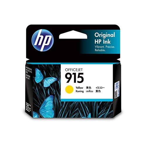 HP 915 3YM17AA Yellow original Ink Cartridge price in hyderabad, chennai, tamilnadu, india