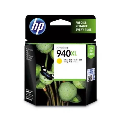 HP 940xl C4909AA High Yield Yellow Original Ink Cartridge price in hyderabad, chennai, tamilnadu, india