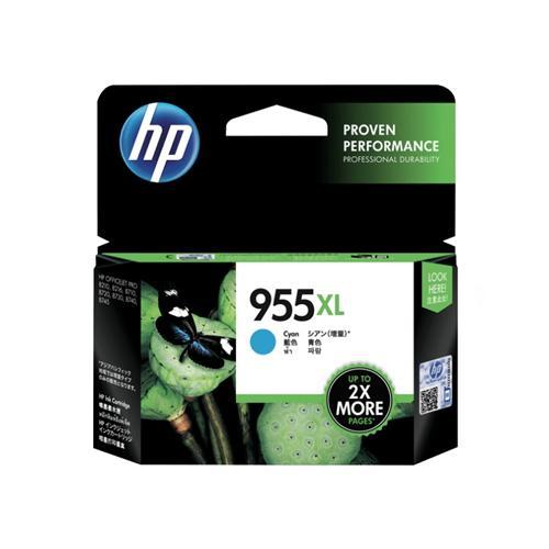 HP 955XL L0S63AA High Yield Cyan Original Ink Cartridge price in hyderabad, chennai, tamilnadu, india