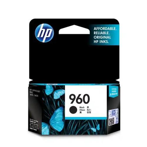 HP 960 CZ665AA Black Original Ink Cartridge price in hyderabad, chennai, tamilnadu, india