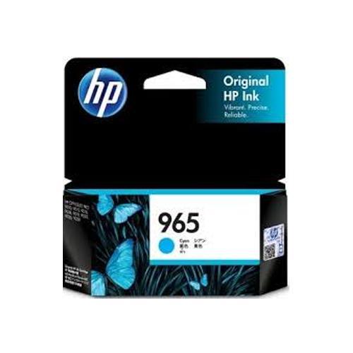 HP 965 3JA77AA Cyan Original Ink Cartridge price in hyderabad, chennai, tamilnadu, india