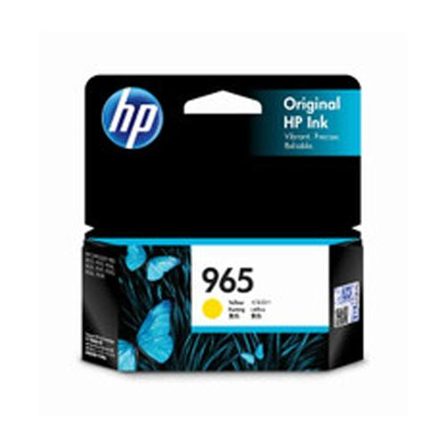 HP 965 3JA79AA Yellow Original Ink Cartridge price in hyderabad, chennai, tamilnadu, india
