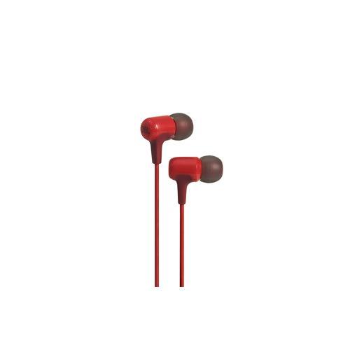 JBL E15 Wired In Red Ear Headphones dealers in hyderabad, andhra, nellore, vizag, bangalore, telangana, kerala, bangalore, chennai, india
