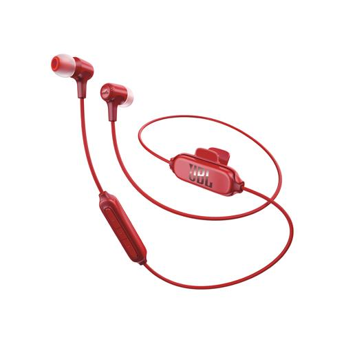 JBL E25BT Red Wireless BlueTooth In Ear Headphones dealers in hyderabad, andhra, nellore, vizag, bangalore, telangana, kerala, bangalore, chennai, india
