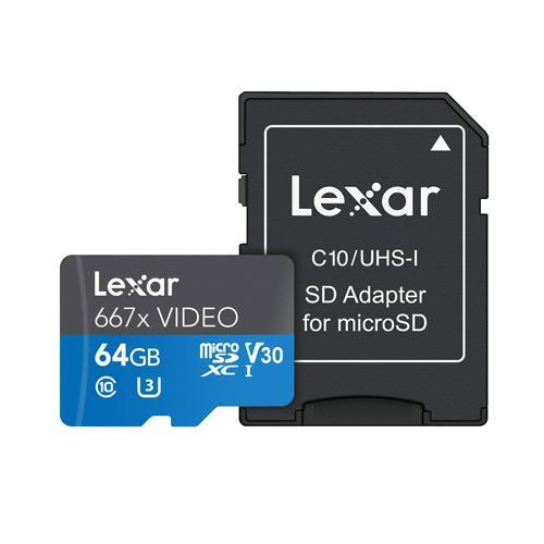 Lexar Professional 667x VIDEO microSDXC UHS I Card price